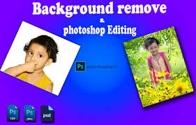 do photo editing background removal