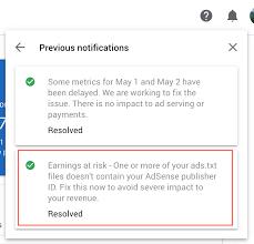ads txt and fix adsense earnings