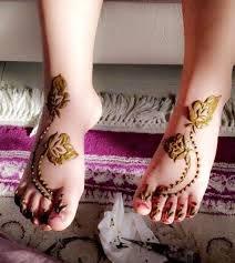 Mehndi Designs For Kids Legs