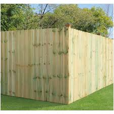 Severe Weather 6 Ft H X 8 Ft W Pressure Treated Spruce Dog Ear Fence Panel In The Wood Fence Panels Department At Lowes Com