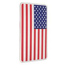 3d Metal Sticker Car Decal Badge Emblem Adhesive Aluminium Us American Flag New