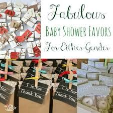 favors for a gender neutral baby shower