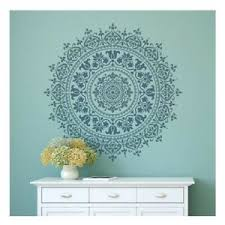 Mandala Wall Stickers Vinyl Art Decal Transfer Mural 3 Sizes Huge Medium Large Ebay