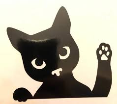 Waving Cat Vinyl Decal Cat Lovers Gift Cat Sticker Etsy In 2020 Cat Stickers Cat Lover Gifts Cat Gifts