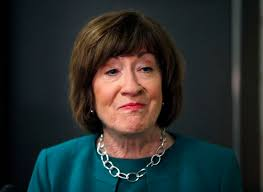 Susan Collins is in the eye of a storm with a potential impeachment vote  approaching - The Boston Globe