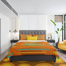 mid century modern bedding retro duvet