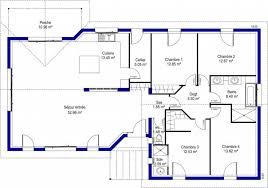 plan de maison à 4 chambres sélection