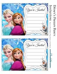 Frozen Invitaciones Para Imprimir Gratis Ideas Y Material