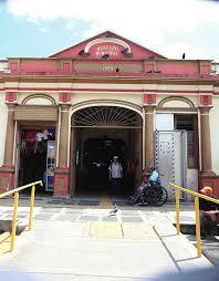Resultado de imagen de fotos antiguas del Mercado Municipal de Heredia