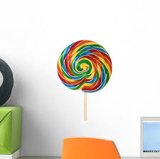 Lollipops Wall Decal Wallmonkeys Com