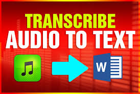 I'll Professionally Transcribe Audio To Text for $10 - SEOClerks