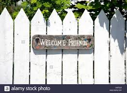 White Picket Fence High Resolution Stock Photography And Images Alamy