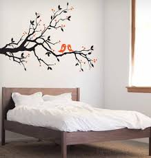 Love Bird Tree Branch Wall Decal Wall Art Decal Sticker