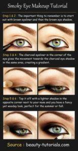 beautiful eye makeup cat eye
