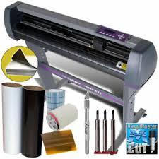 Uscutter 28 Vinyl Cutter Plotter Kit Design Cut Software Make Decals Signs 892145002809 Ebay