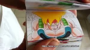 Bardock vs Frieza ( revenge) Dragon ball Z flipbook animation ...