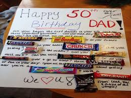 gifts for 50th birthday man