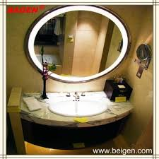 decorative lighted mirror round shape