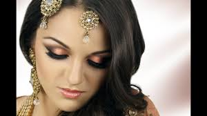 peach bridal makeup tutorial saubhaya