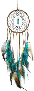 Amazon Com Dream Catcher For Kids Bedroom Handmade Traditional Wind Chimes Wall Handings Dreamcatcher Christmas Party Room Decor 5 Diameter 20 Long Home Kitchen
