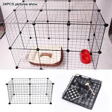 Small Rabbit Enclosure Dog Run Cage Playpen Indoor Outdoor Puppy Iron Jubilantdogs Com