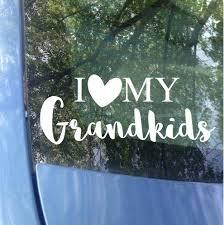 Grandparent Family Car Decals Mrs Tollett Designs