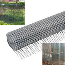 25mm Square Wire Mesh 5m Roll Galvanised Netting Garden Screen Fence Or Aviary 5013478122070 Ebay