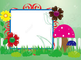 Baby Scrapbook For The Fence Flowers And Mushrooms Royalty Free Cliparts Vectors And Stock Illustration Image 16018588