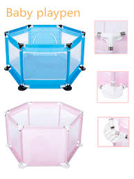 Youloveit 6 Panel Baby Playpen Safety Play Yard Baby Fence Play Pen Kids Play Center Yard Indoors Outdoors Child Playpen Fence For Infants Baby Kids Balls Not Included Walmart Com Walmart Com