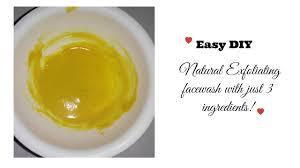 diy make your own natural face wash