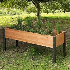 raised garden bed planter box 70 x