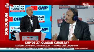 Son Dakika: CHP'de 37. Olağan Kurultay başladı! 'CHP Kurultayı bir ...