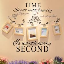Time Spent With Family Is Worth Every Second Decoration Wall Sticker Sale Banggood Com Sold Out Arrival Notice Arrival Notice