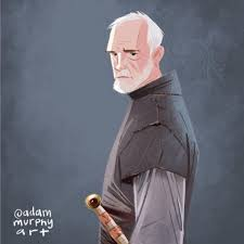 "Adam Murphy on Instagram: ""Ser Barristan Selmy . . . #ianmcelhinney  #barristanselmy #got #gameofthrones #gameofthr… 