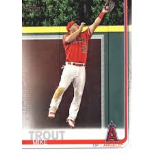 2019 Topps 100 Mike Trout Los Angeles Angels Baseball Card Gotbaseballcards Walmart Com Walmart Com