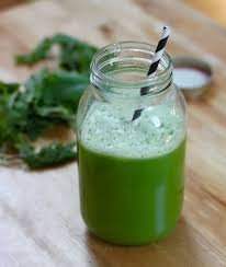 foodinary kale and melon green juice