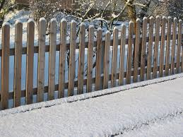 Fence Snow Winter Cold Wood Snowy Frost White Winter Magic Garden Fence Winter Impressions Pikist