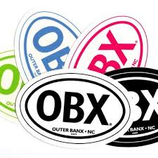 Obx Stickers Outer Banks Gifts Online