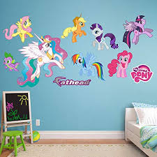 Amazon Com Fathead My Little Pony Collection Vinyl Decals Home Kitchen