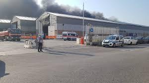 Incendio al porto/ La viabilità... - Comune di Ancona - Informacittà