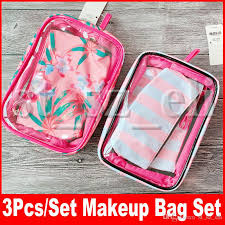 makeup bag pvc womens cosmetic bags