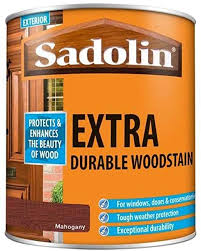 Sadolin Extra Durable Woodstain Mahogany 1 Litre Amazon Co Uk Diy Tools
