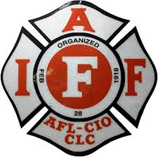 Amazon Com The White And Red 4 Iaff Union 3m Reflective Vinyl Firefighter Us Made Window Decal Everything Else