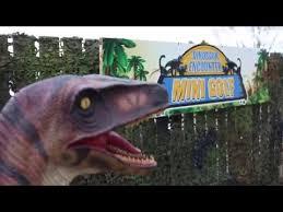 dinosaur encounter mini golf morpeth