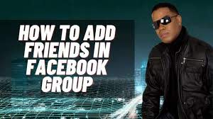 friends in facebook group 2020 add