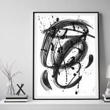 black white dreams framed wall art