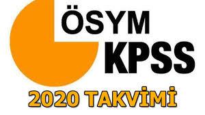 KPSS ortaöğretim, lisans, önlisans başvuruları ne zaman başlıyor ...