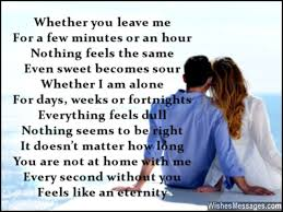 i miss you poems for husband missing