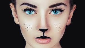 simple cat makeup ideas for halloween