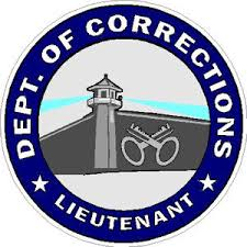 Department Of Corrections Lieutenant Decal At Sticker Shoppe